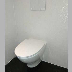 Väggmonterad WC-stol